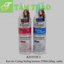 Keo tóc Caring Styling mousse 220ml