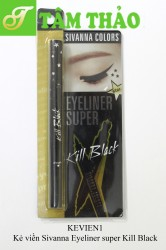 Kẻ viền Sivanna Eyeliner super Kill Black