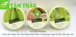 Kem tẩy trang The Face Shop Herb Day Cleansing creami 150ml