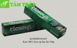 Kem DR Close up bạc hà 160g
